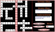 Bible Crossword Puzzle Screen Shot